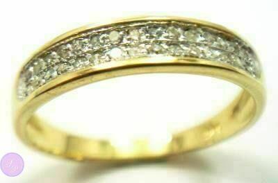 Кольцо, золото 10 карат(417 проба), бриллианты (природный) b50437c0947